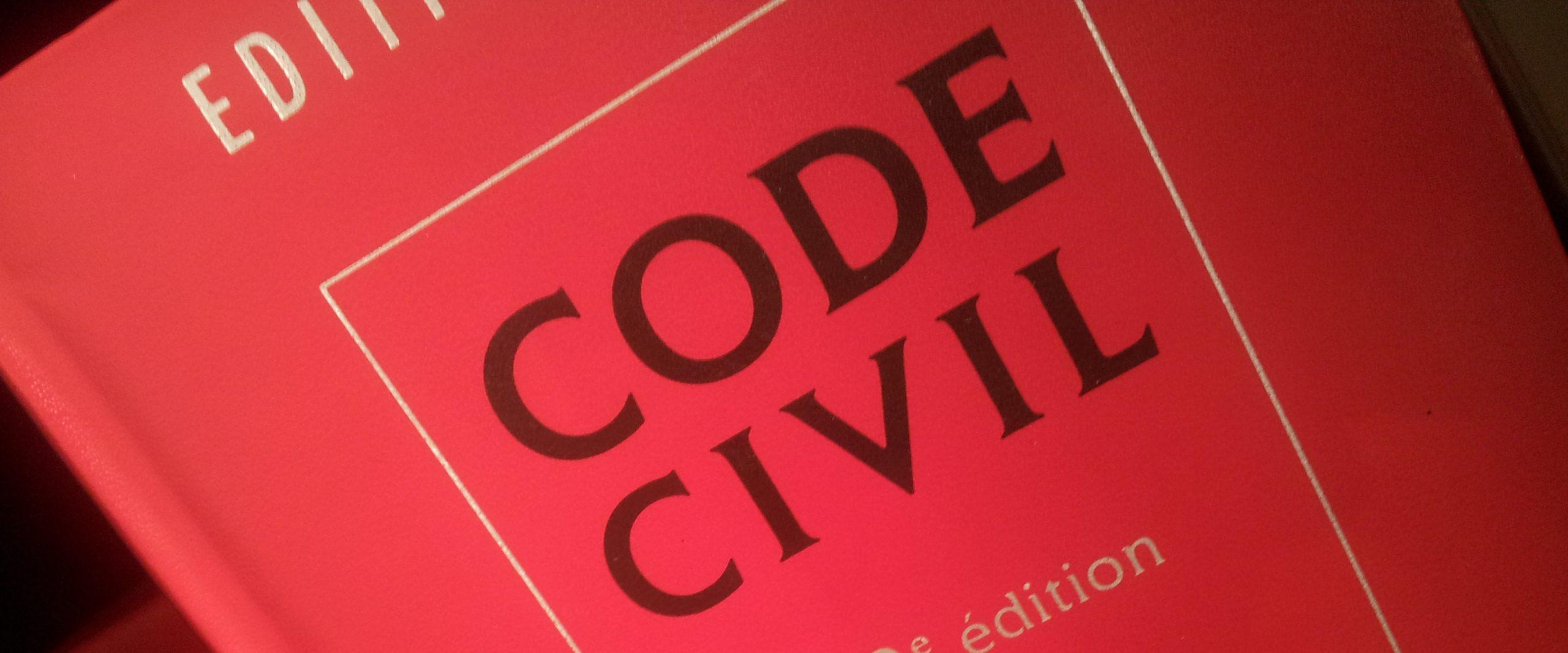 définition personnalite juridique personne code civil
